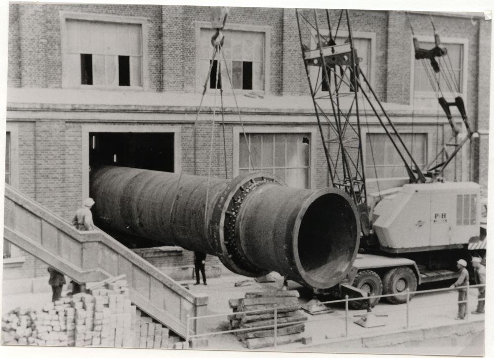 16 mark ii friederichshorst 1899 bis heute beckumer zement museum in k ttings m hle. Black Bedroom Furniture Sets. Home Design Ideas